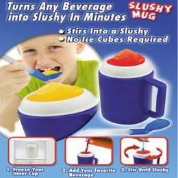 Wholesale innovative styles - Western Style Mini Slushy Mug Innovative ECO Friendly Item 6oz Capacity Salad Cup Milk Shake Mugs CCA9169 20pcs