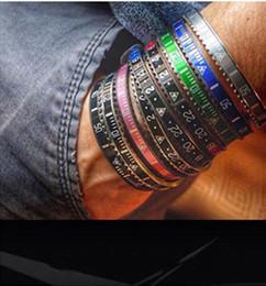 Часы Стиль Манжеты Браслет Высокого Качества Из Нержавеющей Стали Мужские Ювелирные Изделия Fashion Party Браслеты для Женщин Мужчин с Розничной коробке supplier jewelry box steel watch от Поставщики часы из нержавеющей стали