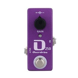 Wholesale Mini Distortion Pedal - Mosky D250 Overdrive Electric Guitar Effect Pedal Mini Effect True Bypass