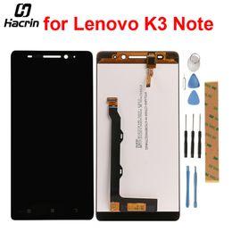 2019 lenovo k3 note pantalla táctil hacrin para Lenovo K3 Note Pantalla LCD 100% probada Pantalla LCD + reemplazo del digitizador del panel táctil para Lenovo K3 Note K50-T lenovo k3 note pantalla táctil baratos
