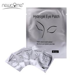 2019 parches de calidad para los ojos NEWCOME 20/30/50/100 pares de almohadillas sin pelusa para la extensión de pestañas Parches de alta calidad para las herramientas de maquillaje parches de calidad para los ojos baratos