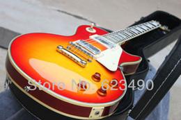 Canada Custom Shop 59 Paul Guitare Électrique Lavé Cerisier chibson Nouvel Arrive Ems Livraison Gratuite Sans Étui en stock Offre
