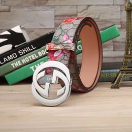 джинсы мужские дизайнерские с пряжкой Скидка Цветы и буквы пояса Мужские женщины Роскошный бренд Высокое качество Дизайнерские ремни Модный узор пряжки Ремень Мужские джинсы Пояса для подарка