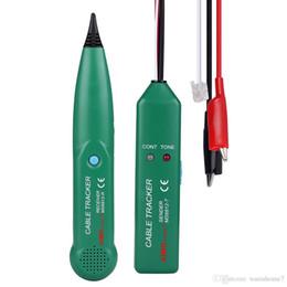 2020 cableado rj45 rj11 Probador de cable de red MASTECH LAN para UTP STP Cat5 Cat5E Cat6 Cat6E RJ45 RJ11 Seguidor de cable de teléfono Tracer Cable de teléfono Trace cableado rj45 rj11 baratos