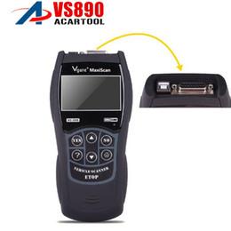 2019 lector de código de diagnóstico de coche obd2 Mejor precio VS890 OBD2 Lector de Código Universal VGATE VS890 OBD2 Escáner Multi-idioma Herramienta de Diagnóstico Del Coche Vgate MaxiScan rebajas lector de código de diagnóstico de coche obd2