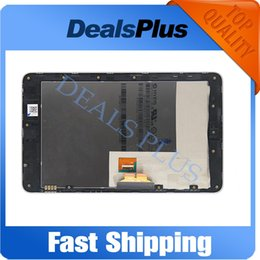 Wholesale Asus Google Nexus Lcd - Wholesale- Replacement New LCD Display Touch Screen + Frame Assembly For Asus Google Nexus 7 Nexus7 2012 ME370T 3G Black Free Shipping