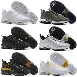 Wholesale! 2018 Top Cheap Mens Womens Shoes Green Vapormax TN Ultra Sports Requin Sneakers air Caushion Running tns shoes 36-45 big discount sale online cheap sale best place outlet best sale m7KNYNA