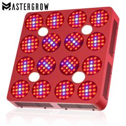 Cree cresce online-MasterGrow Double Switch CREE CXA 2530 COB e Double Chip 4560W LED Grow Light Full Spectrum High Lumen PAR per piante da interno e fiori