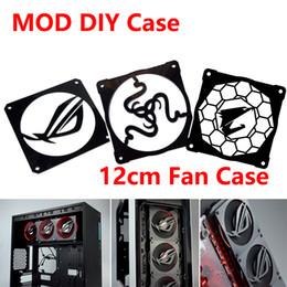 Canada MOD DIY 12 cm X 12 cm ventilateur couverture radiateur couvercle décoratif accessoires de refroidissement par eau liquide système de refroidissement utiliser pour les fans Offre