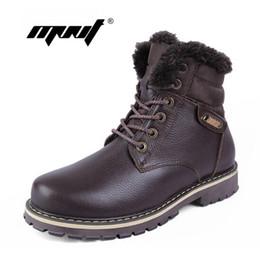 Мужская обувь из натуральной кожи онлайн-Высокое качество полное зерно кожа мужчины зимние ботинки,ручной работы мода мужчины снег сапоги плюс размер супер теплый бархат зимние ботинки