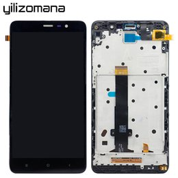 Pannello touch screen originale YILIZOMANA con cornice per Xiaomi Redmi Note 3 LCD Display Digitizer Assembly Strumenti gratuiti di sostituzione da