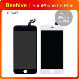 Wholesale Install Assembly - Grade AAA LCD screen display digitizer touch assembly for iPhone 6S plus Camera and sensor holder pre-installed lifetime warranty