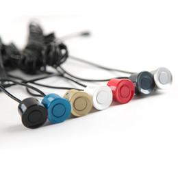 2019 flautas de oro Flauta Sensor de 22 mm Negro Rojo Azul Plata Blanco Gris Champán Color oro para el kit del sensor de aparcamiento del coche Sistema de marcha atrás rebajas flautas de oro