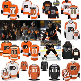 b9e8fa23d Philadelphia Flyers 53 Shayne Gostisbehere 2019 New Third Wayne Simmonds  Claude Giroux Jakub Voracek Provorov Konecny Custom Hockey Jersey