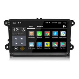 Wholesale passat dash - 2 Din 9 inch Android 8.0 Car DVD Player GPS Navigation Stereo Radio For VW Volkswagen Passat Jetta Tiguan Touran POLO Golf Skoda Octavia Sea