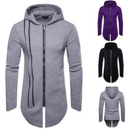 Личность молнии Куртки пальто человек с длинным рукавом куртка хип-хоп нерегулярные мужской пальто верхняя одежда мужчины тренч зимняя одежда Куртки для мужчин от