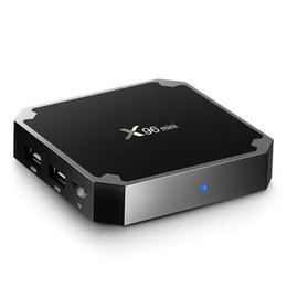 Amlogic S905W 2 GB RAM 16 GB ROM Android 7.1 2.4G WiFi 4Kx2K H.265 HEVC VP9 TV Box Mini PC ? partir de fabricateur
