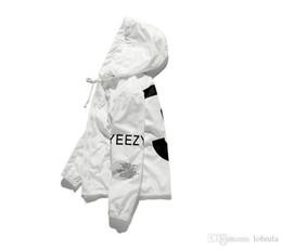 Canada Veste Décontractée Hommes KANYE Hip Hop Coupe-Vent TOUR 3 Vestes Hommes Femmes Streetwear Mode Manteau Uniforme manteau noir Blanc YEEZUS Y3 Veste cheap casual mode men Offre