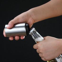 Gadget wein online-HOT Magnet-Automatic Bier Flaschenöffner für Weinbar Küchenhelfer Life Good Helper Edelstahlöffner Neues Design SF Express