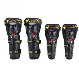 plastiques de course Promotion Moto Racing ABS Plastique Protecteur Garde Genou Coude Coussins Protecteur Racing Crashproof Coupe-Vent Respirant Protecteur