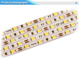 Wholesale Led Strip Sign Lighting - 10pcs 50cm Long Slim 4mm Wide LED Rigid Strip Bar SMD2835 72leds m 0.1W Advertising Lights for Crystal Light Boxes Signs Signage