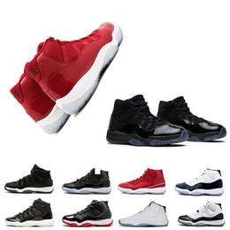 Cape noire pour hommes en Ligne-2018 meilleure qualité 11 robe cape Heiress Black Stingray Hommes Femmes Chaussures de Basketball humain 11s noir or sport baskets livraison gratuite