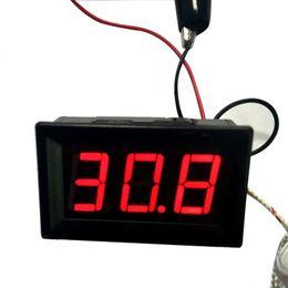 Argentina HIPERDEAL LED DC12V Termopar K tipo -30 ~ 800 Celsius Termómetro digital de alta temperatura 18May25 Nave Drop F supplier k type thermocouple thermometer Suministro