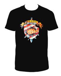 Maglietta calda degli uomini neri online-SLADE WE'LL PORTARE LA HOUSE DOWN NERO CREW COLLO MANICA CORTA TSHIRT estate Vendita calda uomini T-Shirt Top