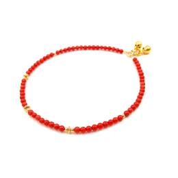 2019 campane in argento sterling Perle di corallo rosso tenero Lii Ji con campane in argento sterling 925 placcato oro 18 carati per le donne sconti campane in argento sterling