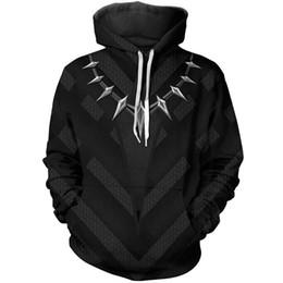 Canada nouveau Avengers 3 Iron Man Black Panther avec veste costume cosplay fermeture éclair veste à capuche anime livraison gratuite supplier iron hoodie Offre