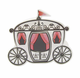 Wholesale Cinderella Carriage Candy Boxes - Romantic Fairy tale Favors Gifts Baby Shower Wedding Candy Box Cinderella Pumpkin Carriage wedding decoration marriage 100pcs