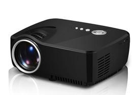 Canada 2018 GP70 2016 Nouveau projecteur HD LED HDMI USB Vidéo Cinéma Maison Numérique Portable HDMI USB LCD DLP Film Pico LED Mini Projecteur Offre