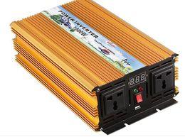 12v чистый инвертор синусоидальной волны Скидка Чисто волна синуса 1000W может соединить солнечный инвертор 12V/24/48/ до 220V