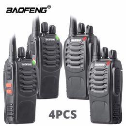 2019 icom uhf radios 4pcs Funksprechgerät baofeng bf-888s Amateurfunkstation UHF 16CH BF888s Funksprechgerät Portable Team Transceiver für die Jagd im Freien
