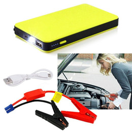 Wholesale portable jump starters - 12V 20000mAh Mini Portable Multifunctional Car Jump Starter Power Battery Charger Emergency Start Charger J15C17
