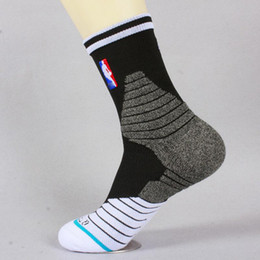 USA Professional Elite Basketball Socks Long Knee Athletic Sport Socks Men Fashion Compression Thermal Winter Socks