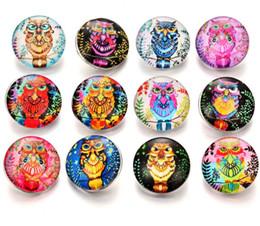 2019 boutons de singe 60 Pcs Nouveau Bouton pression Bijoux Vintage Singe de Bande Dessinée Verre 18mm Boutons pression S'adapte à DIY Bracelet pression boutons de singe pas cher