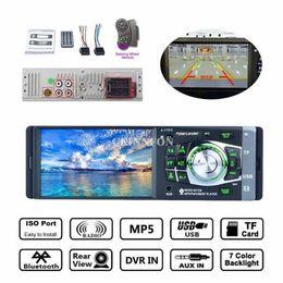 "Wholesale Hd Wheels - DHL 5PCS 4.1"" Bluetooth In-Dash Stereo Audio FM Radio LCD HD Car MP5 MP3 USB AUX Player 4012B (steering Wheel Remote Control)"