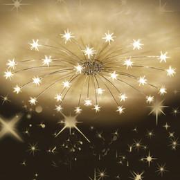 Modern Sky stars Lampada da soffitto a led Camera da letto Lampada da soffitto romantica Illuminazione Soggiorno Lampade Decorazioni per la casa Lustri da
