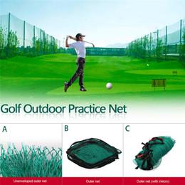 2019 redes de prática de golfe Golf Ao Ar Livre Grande Prática Estimulador Trainer Net Adequado Para Indoor E Outdoor Golf Driving Range Jardim Varanda desconto redes de prática de golfe