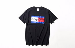 magliette nere fresche Sconti Mens Fashion Tshirts Cool Vintage Forever Letters Design Tee Black White Street Top maniche corte