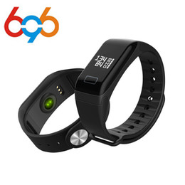 Relógio de pulso f1 on-line-Freqüência Cardíaca F1 Smartband Monitore Pulseira Inteligente Pulseira Saúde Relógio de Pulso Chamada Alarme de Vibração para xiomi Androidios phon
