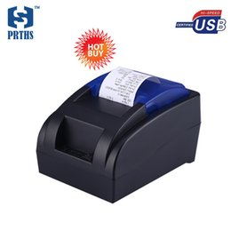 Wholesale printers computers - Cheap 58mm USB thermal bill printer with new versions driver contact to computer directly for system HS-58HU