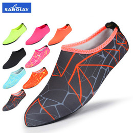 Wholesale suits shoes men - Water Pink Socks Women Men Socks Dry Scuba Boot Shoes Anti-slip Diving Sock Water Sports Beach Socks Swimming Surfing Wet Suit Shoes