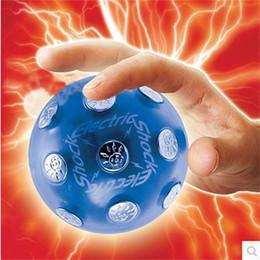 bolas de choque elétrico Desconto Originalidade Jogo Tricky Elétrica Bola Chocante Bar KTV Teste Mão Jogo Interativo Divertido Brinquedo Eletrônico Entregar Uma Chave 32dy W