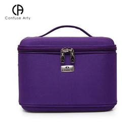 969c3aa7d9af Makeup Organizer Waterproof Makeup Bag Travel Organizer Cosmetic Bag for Women  Travel Large Capacity Storage case Suitcases 40Z