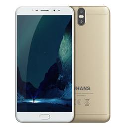 Wholesale Max 4g - UHANS MAX 2 4G Smartphone 6.44 Inch FHD Android 7.0 Octa Core 4GB RAM 64GB ROM 4300mAh Dual Back Camera Fingerprint