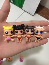 Canada 8pcs différent genre lol bebek poupées LOL modèle jouet nouveauté éducative enfants déballage LOL poupée Ball Girl Action jouet chiffres cadeaux Offre