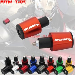 Motorcycle Accessories 7/8'' 22MM Handlebar Grips Handle Bar Cap End Plugs For  CBR600RR CBR 600RR CBR600 RR CBR 600 RR от