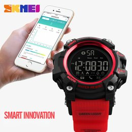 remote camera app Coupons - SKMEI1385 Men Smart Watch Pedometer AlarmSports Watches Remote Camera Call APP Reminder Bluetooth Wristwatches Relogio Masculino